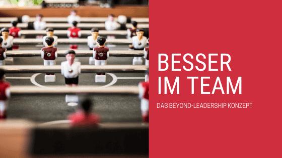 Beyond Leadership - Bessere Teamarbeit Beitragsbild
