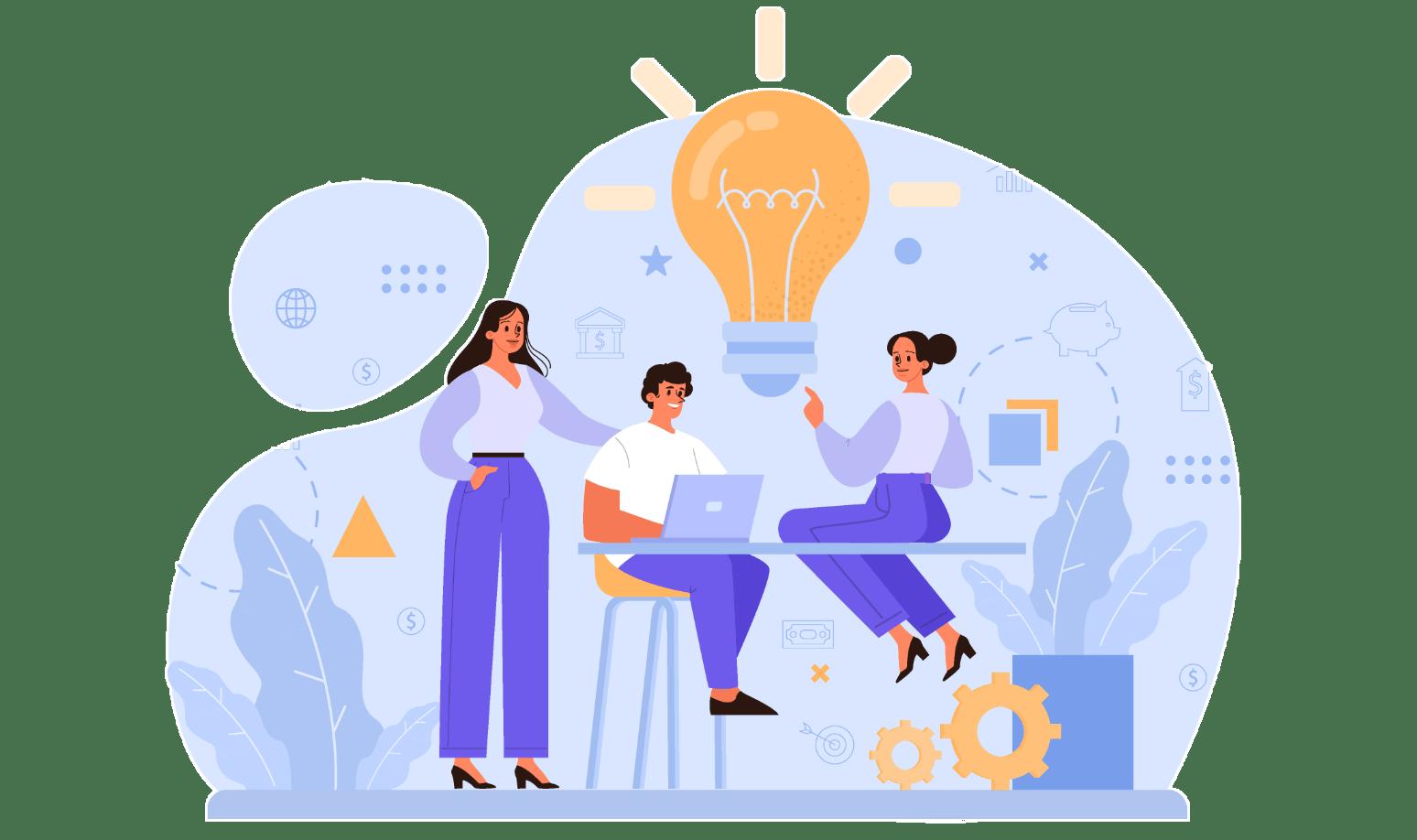 Zusammenarbeit im Hirnpuls-Team