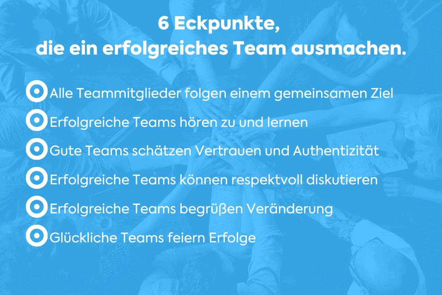 Teamcoaching und die Eckpfeiler eines erfolgreichen Teams